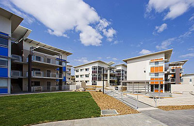 Student village accommodation