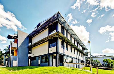 Engineering building in Rockhampton.
