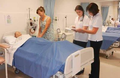 Nursing School students, Mackay Campus