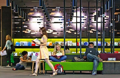 Burwood Campus library