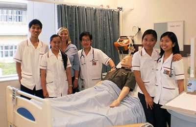 International nursing students