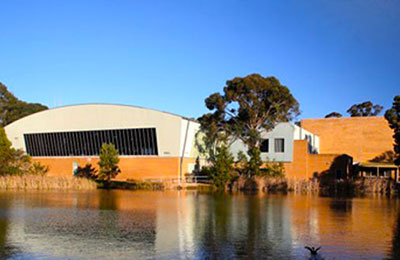 Mt Helen Campus - view from lake.