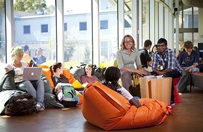 Students in Science Innovation Learning Centre