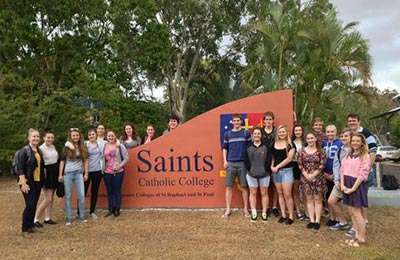 Saints Catholic College (residential), Townsville.