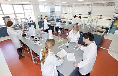 Chemistry lab, Parkville Campus