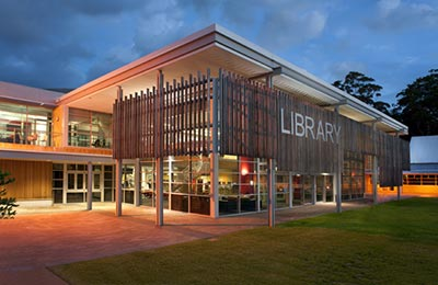 Central Coast Campus library.