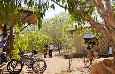 Student accommodation in Broome.