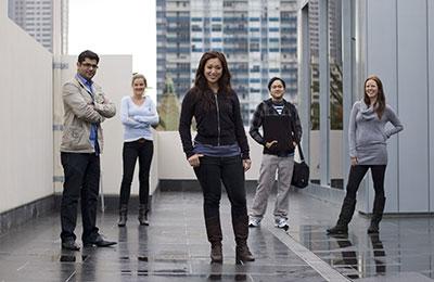 College of Business postgraduate students