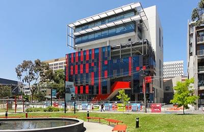 Student Hub building.