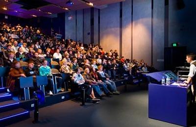 Undergraduate lecture at UniSA.