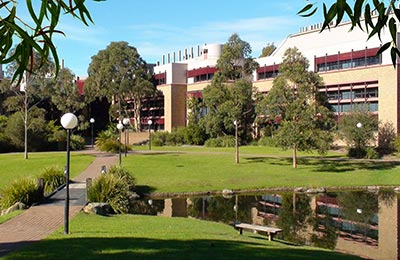 UOW science buildings.